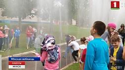 Спасатели посещают детские оздоровительные лагеря Ратавальнікі наведваюць дзіцячыя аздараўленчыя лагеры