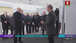Рабочая поездка Александра Лукашенко в Гродненскую область