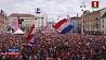 Хорватия, несмотря на поражение, гуляла всю ночь