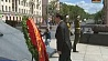 Президент Вьетнама возложил венок на площади Победы в Минске  Прэзідэнт В'етнама ўсклаў вянок на плошчы Перамогі ў Мінску