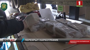 На границе с Латвией изъяли крупную партию наркотиков