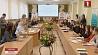 В столице выбирают первых молодежных послов Целей устойчивого развития У сталіцы выбіраюць першых маладзёжных паслоў Мэтаў устойлівага развіцця 40 projects presented by Minsk students at city stage of competition 100 Ideas For Belarus