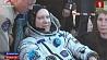 В Казахстане встречали участников миссии с МКС, среди которых и наш соотечественник У Казахстане сустракалі ўдзельнікаў місіі з МКС, сярод якіх і наш суайчыннік Crew members of ISS including our compatriot met in Kazakhstan