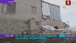 Второе землетрясение за сутки в Турции Другое землетрасенне за суткі ў Турцыі