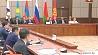 Под знаком евразийской интеграции Пад знакам еўразійскай інтэграцыі EAEU Prime Ministers discuss integration cooperation issues at Eurasian Intergovernmental Council meeting in Sochi