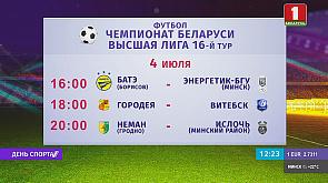 Чемпионат Беларуси по футболу. 16 тур продолжится сегодня тремя матчами