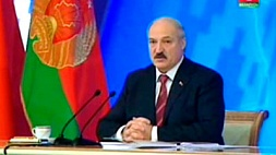 Пресс-конференция Президента Республики Беларусь А.Г.Лукашенко представителям белорусских и зарубежных СМИ. Телеверсия.