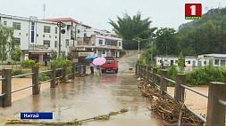 Растет число жертв наводнения в Китае Расце колькасць ахвяр паводкі ў Кітаі