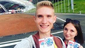 """Марина Хлябич: """"Говорят, что белорусы - самый гостеприимный народ. А я лишь хочу это подтвердить. С первого дня фестиваля было много интересных встреч, знакомств, разговоров""""."""
