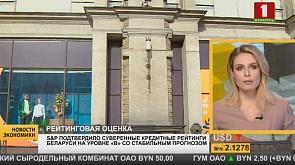 Рейтинговое агентство Standard & Poor's подтвердило суверенные кредитные рейтинги Беларуси на уровне В со стабильным прогнозом