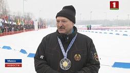 А. Лукашенко: Я вам обещаю, что у нас будут хорошие лыжи А. Лукашэнка: Я вам абяцаю, што ў нас будуць добрыя лыжы