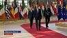 Лидеры стран ЕС пришли к общему соглашению о том, как справиться с миграционным кризисом Лідары краін ЕС прыйшлі да агульнага пагаднення аб тым, як справіцца з міграцыйным крызісам