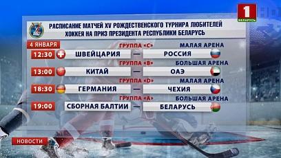 """На малой площадке """"Чижовка-Арены"""" играют Швейцария и Россия"""