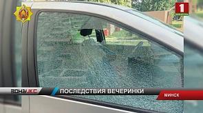 Милиция задержала хулигана, который обстрелял машину из пневматического пистолета в Минске