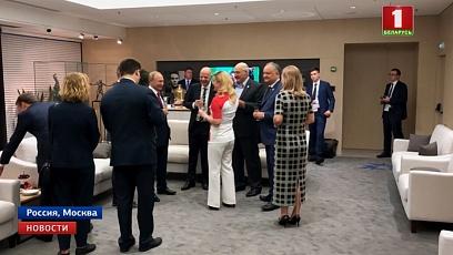 По приглашению Владимира Путина закрытие мундиаля посетил и белорусский Президент