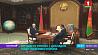 Александр Лукашенко принял с докладом Председателя Государственного военно-промышленного комитета  Аляксандр Лукашэнка прыняў з дакладам Старшыню Дзяржаўнага ваенна-прамысловага камітэта