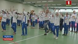 49 юных спортсменов принимают участие в национальном отборе Всемирных игр победителей 49 юных спартсменаў прымаюць удзел у нацыянальным адборы Сусветных гульняў пераможцаў