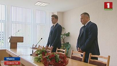 Нового руководителя сегодня приветствовали в Министерстве архитектуры и строительства