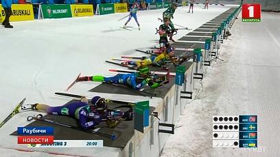 Белорусская эстафетная четверка пополнила медальную копилку чемпионата Европы по биатлону