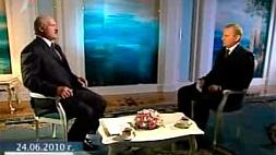 """Телеверсия """"Интервью Президента Республики Беларусь А.Г.Лукашенко телеканалу """"Евроньюс"""""""