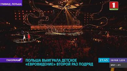 """Хрустальный микрофон детского """"Евровидения"""" снова достался Польше"""