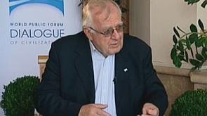 Вальтер Швиммер - генеральный секретарь совета Европы