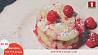 Быстрый кекс с ягодами