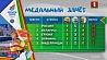Четыре золота, два серебра и восемь бронзовых наград у наших спортсменов в первый медальный день на II Европейских играх  Чатыры залатыя, дзве сярэбраныя і восем бронзавых узнагарод у нашых спартсменаў у першы медальны дзень на II Еўрапейскіх гульнях