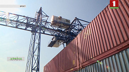 Белорусская железная дорога завершила модернизацию контейнерного терминала станции Брест-Северный Беларуская чыгунка завяршыла мадэрнізацыю кантэйнернага тэрмінала станцыі Брэст-Паўночны