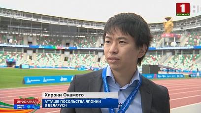 Гости из Японии делятся впечатлениями о Беларуси