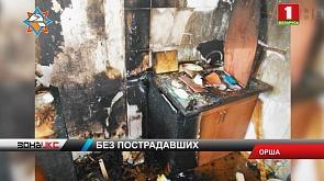 54 человека, среди которых 9 детей,  эвакуировали на пожаре в Орше
