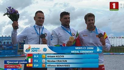 10 медалей! Сборная Беларуси по гребле на байдарках и каноэ показала фантастический результат на II Европейских играх
