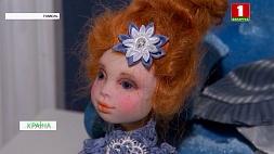 В руках гомельского архитектора рождаются куклы из дерева, глины, пластика и ткани У руках гомельскага архітэктара нараджаюцца лялькі з дрэва, гліны, пластыку і тканіны