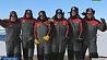 Участники 10-й Белорусской антарктической экспедиции поздравили женщин Удзельнікі 10-й Беларускай антарктычнай экспедыцыі павіншавалі жанчын