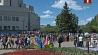 Аллея Белорусской государственной академии музыки сегодня превратилась в творческую площадку  Алея Беларускай дзяржаўнай акадэміі музыкі сёння ператварылася ў творчую пляцоўку