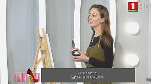 Художница Valeriе Vesna нарисовала в студии картину за 5 минут