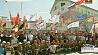 Более 400 студентов из Беларуси и России встретились на площадке Белорусской АЭС Больш за 400 студэнтаў з Беларусі і Расіі сустрэліся на пляцоўцы Беларускай АЭС