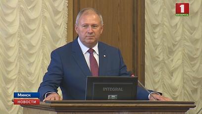 Нового премьер-министра Сергея Румаса и вице-премьеров сегодня представили Аппарату Совета Министров