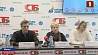 Белорусские тренеры и атлеты рассказали, как проходит подготовка к Европейским играм  Беларускія трэнеры і атлеты распавялі журналістам, як праходзіць падрыхтоўка да Еўрапейскіх гульняў  Belarusian coaches and athletes comment in preparations for II European Games