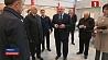 Александр Лукашенко посетил деревню спортсменов в Минске  Аляксандр Лукашэнка наведаў вёску спартсменаў у Мінску