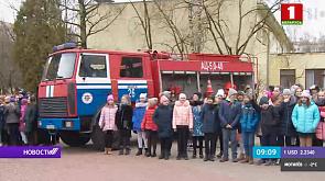 Cпасатели проводят рейды в школах в рамках Единого дня безопасности