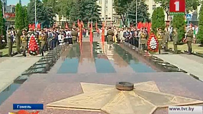В Гомеле торжества откроет шествие с участием ветеранов войны и труда