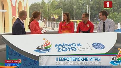 У нас в гостях представители сборной Испании по легкой атлетике