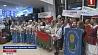 Триумфаторов Всемирной летней гимназиады в Марокко встречали в Национальном аэропорту Трыумфатараў Сусветнай летняй гімназіяды ў Марока сустракалі ў Нацыянальным  аэрапорце Winners of ISF Gymnasiade 2018 in Morocco welcomed in national airport
