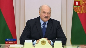 Alexander Lukashenko meets with Belarusian diplomats in Palace of Independence