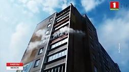 В столице 14 человек эвакуировали из дома по улице Гурского 14 чалавек эвакуіравалі сёння у сталіцы з дома па вуліцы Гурскага