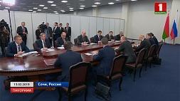 Взаимодействие Беларуси и России на всех уровнях. Минский взгляд на сочинские диалоги