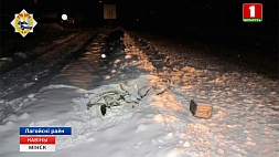В Логойском районе пьяный водитель сбил велосипедиста и попытался скрыться У Лагойскім раёне п'яны вадзіцель збіў веласіпедыста і спрабаваў уцячы