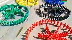 Спортивно-молодежное шествие, посвященное Дню Независимости Республики Беларусь.