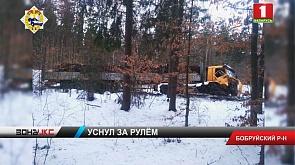 Уснул за рулем. ГАИ проводит проверку по факту аварии в Бобруйском районе